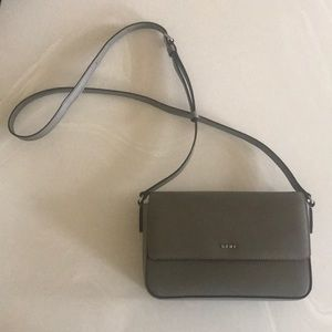 DKNY Small Gray Shoulder Flap Bag New w/o Tags